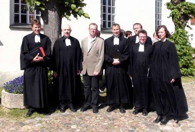 Fotoalbum Verabschiedung unseres Pfarrers Hartmut Renziehausen in den Ruhestand