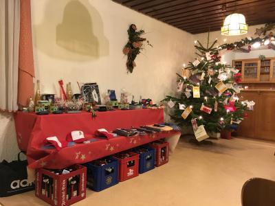 Fotoalbum Weihnachtsfeier am 03.12.2016