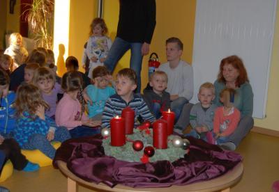 Fotoalbum Der Nikolaus war da!