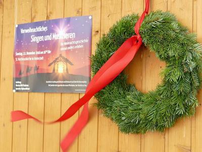 Fotoalbum Vorweihnachtliches Singen und Musizieren 2016