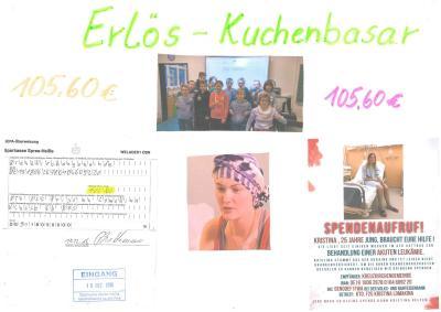 Fotoalbum Spendenaktion der Klasse 6b