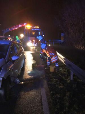 Fotoalbum Verkehrsunfall auf der L434 bei Rohden