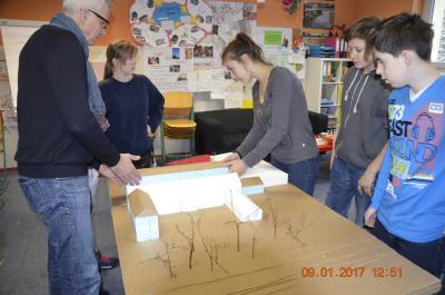 Fotoalbum Workshop zum Schulerweiterungsbau