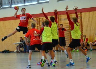 Fotoalbum Keno Jacobs - ein Handball-Talent geht seinen Weg