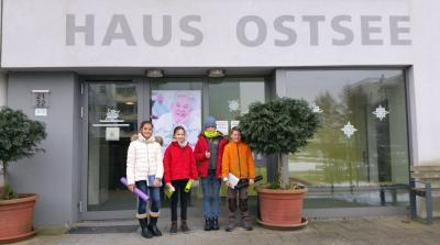 Fotoalbum Besuch der Montessori Schüler