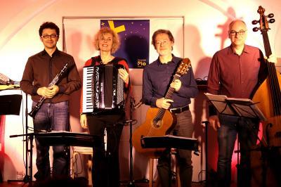 Fotoalbum Ensemble Pio mit Jochen Anger