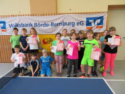 Fotoalbum Tischtennis-Minimeisterschaften