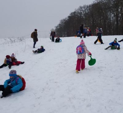 Fotoalbum Ein Tag im Schnee