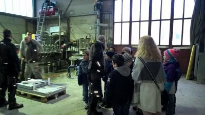 Fotoalbum Besuch beim Steinmetz