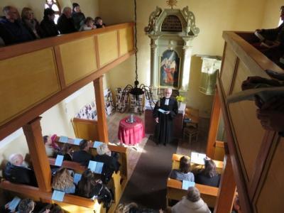 Fotoalbum Kirchweihfest in der Patzschwiger Dorfkirche mit Taufe & Anspiel der Konfirmanden