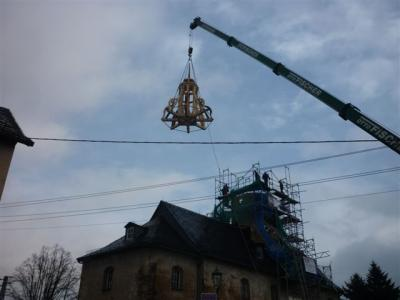 Fotoalbum Neue Turmbekrönung und Knopffest der Kirche Remptendorf