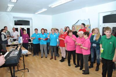 Fotoalbum Grabow beim ersten Möckern Song Contest