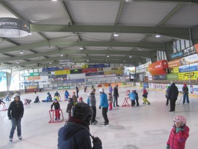 Fotoalbum Eislaufen 1. Klasse in Lindau - Eisstadion