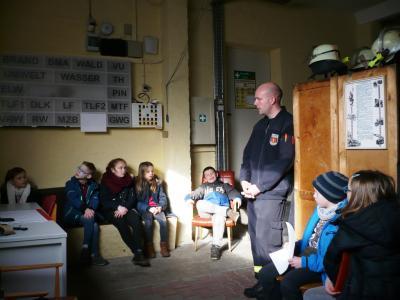 Fotoalbum Besuch bei der Feuerwehr