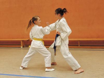 Fotoalbum Sektion Karate beim Training