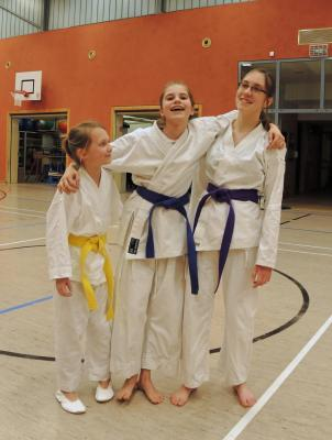 Fotoalbum Sektion Karate beim Training