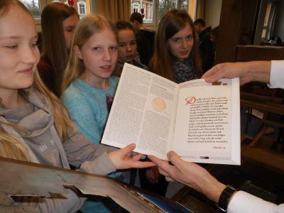Fotoalbum Die Gutenberg Buchpresse in unserer Schule