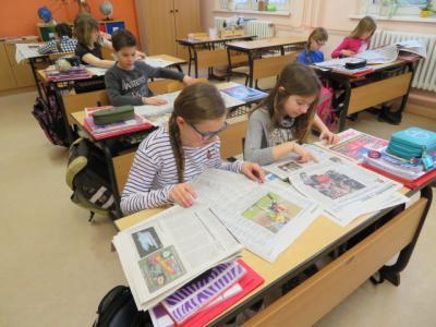 Fotoalbum SchmaZjunior-Projekt der Klasse 4