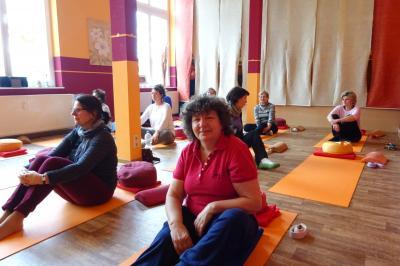 Fotoalbum Yoga-Tag zum Schnuppern