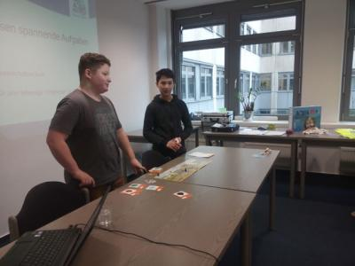 Fotoalbum Aqua-Agenten: Startschuss für das Projekt durch Unterelbe-Schüler