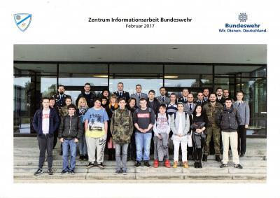 Fotoalbum Besuch der Bundeswehr 2017