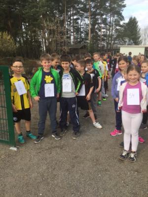 Fotoalbum Minimarathon der Schule