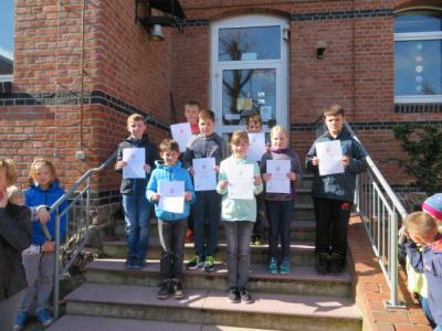 Fotoalbum 2. Stufe der Mathematikolympiade in Wolmirstedt
