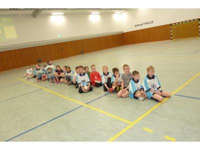 Fotoalbum Fußballturnier der vierten Schuljahre