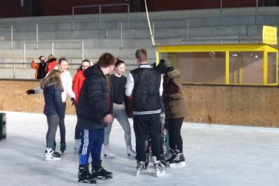 Fotoalbum Wintersporttag in der Eishalle