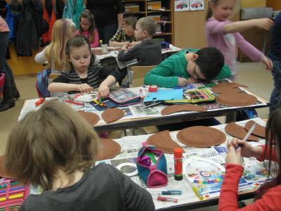 Fotoalbum Frühlingsprojekt in der Grundschule