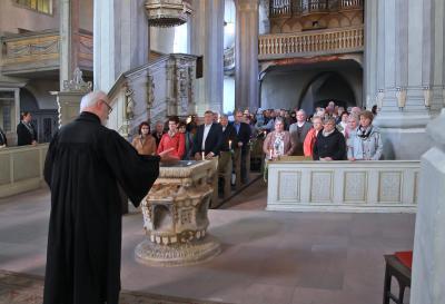 Fotoalbum Festgottesdienst zur Goldenen Konfirmation des Konfirmationsjahrgangs 1967 Stadtkirche Bad Schmiedeberg
