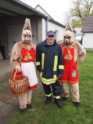Fotoalbum Osterfeuer der Feuerwehr