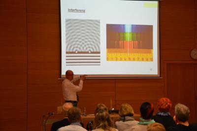 """Fotoalbum """"Wie funktioniert Astronomie ohne Teleskop"""" Vortrag mit Uwe Schierhorn"""