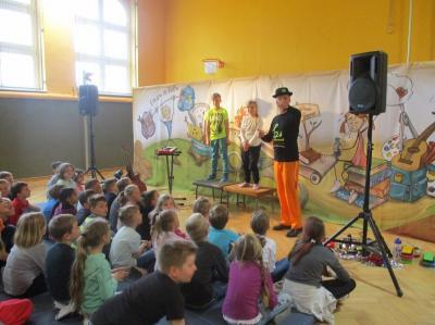 """Fotoalbum Theater mit Dirk Preusse """"Enorm in Form"""""""