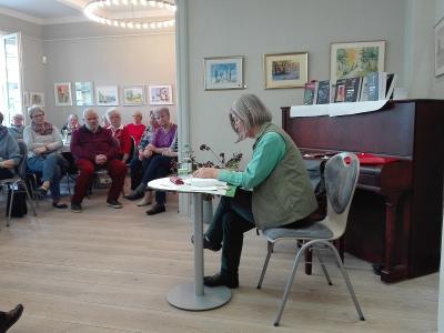 "Fotoalbum Literatur-Cafè: Dietmar Linke ""Bedrohter Alltag: Als Pfarrer im Fokus des MfS"""