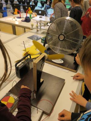 Fotoalbum Energie Labor zu Gast in der 5F1