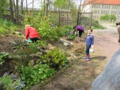 Fotoalbum Frühjahrsputz im und am Vereinsheim