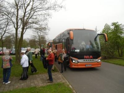 Fotoalbum Seniorenfahrt nach Golm und Werder