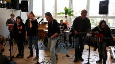 Fotoalbum Das Rockmobil in der Europaschule Werneuchen