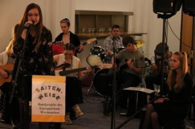 Fotoalbum Konzert der Schülerband im Abgeordnetenhaus Berlin