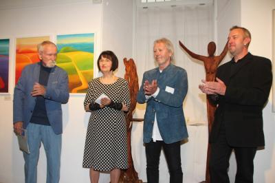 Fotoalbum Ausstellung Edeltraud Göpel und Erich Klotz