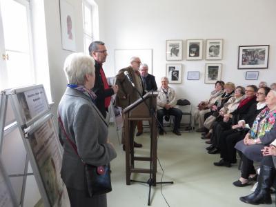 Fotoalbum Vernisage zur 40. Ausstellung in unserer Turmgalerie
