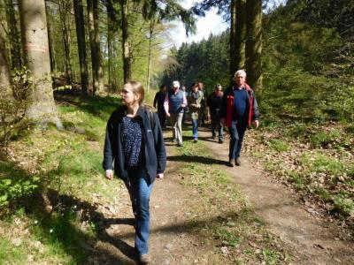 Fotoalbum Schlossbrunnenweg-Einweihung des ersten Premium Spazierwanderweg in Hessen