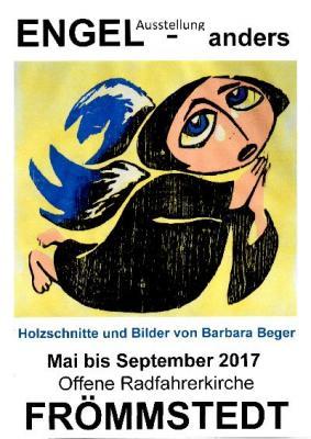 Fotoalbum Ausstellung von Engelsbildern der Künstlerin Frau Barbara Beger.