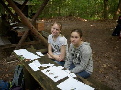 Fotoalbum Walderlebnistag der Klasse 5