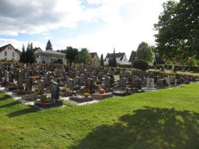 Fotoalbum Bilder des Friedhofes