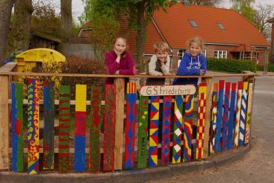 Fotoalbum Aktionswochenende Schulhofumgestaltung 5. und 6. Mai 2017