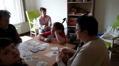 Fotoalbum 3. Klasse besucht Tagesstätte des Pflegeheims in Havelberg (GS Breddin)