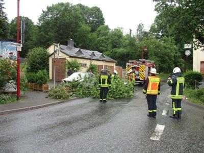 Fotoalbum Verkehrsunfall - Obergasse