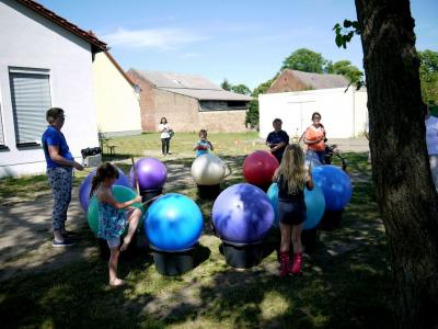 Fotoalbum Kinderfest bei Blau-Weiss